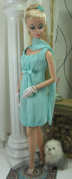 »✿❤Tiffany Blue❤✿« Aqua Spell for Silkstone Barbie By Matisse Fashions
