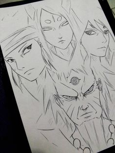 Rikudou Ashura Indra Kaguya xD by DiegoYojiJoji Naruto Drawings, Naruto Sketch Drawing, Anime Drawings Sketches, Anime Sketch, Anime Naruto, Naruto Shippuden Sasuke, Naruto Kakashi, Naruto Art, Boruto