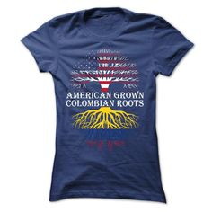 American Grown with Colombian Roots Women T-Shirt http://aztshirtshoodies.com/product/american-grown-with-colombian-roots-women-t-shirt/