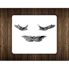 BIRDS AND BUTTERFLY TATTOOS MOUSE PADS
