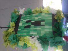 Mine craft piñata