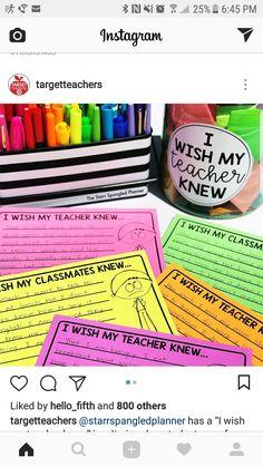 Positive Behavior, Beginning Of School, Class Management, My Teacher, Wish, Thats Not My, Positivity, Student, Classroom Ideas