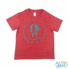 De tal Palo Tal Astilla|| Toddler Vintage Eco-friendly T-Shirt – Flor Hilda Designs