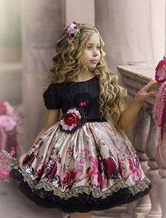 Frilly Dresses, Cute Dresses, Vintage Dresses, Girls Dresses, Flower Girl Dresses, Dollcake Dresses, Flower Girls, Cute Little Girl Dresses, Cute Girl Outfits