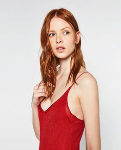 Image 4 of LIMITED EDITION DOUBLE STRAP DRESS from Zara