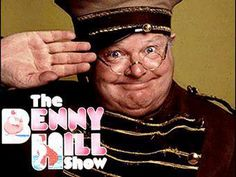 """The Benny Hill show. I've never been really interested in seeing the classic """"made for male tv"""" type of comedy shows. However, Benny Hill was really funny! Goes to show you, doesn't matter if your gay or straigt, if your funny, you'll get laughs. Benny Hill, School Tv, British Comedy, British Humor, Funny Character, Vintage Television, Old Shows, 70s Tv Shows, Great Tv Shows"""