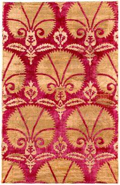 Antiue Ottoman Voided Silk Velvet and Metal thread Çatma Bursa 1st half 17th Century