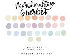 Graphic design and Affirmations by BrushAndBarley on Etsy Colour Schemes, Colour Palettes, Color Combinations, Rainbow Clipart, Cute Wallpapers For Ipad, Colour Story, Earthy Color Palette, Design Palette, Cute Fonts