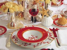 Cristobal Coral dinnerware by Alberto Pinto for Raynaud