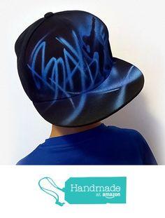 Hip hop Break Street Dancer Custom graffiti airbrushed Snapback hat cap   e21a56c0a71