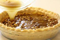 No. 49 - Maple Walnut Pie - Saving Room for Dessert