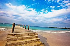 Runaway Bay, Jamaica, a far cry from its busy neighbor Ocho Rios.