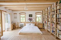 Design Highlight: Library Bedrooms | the official blog