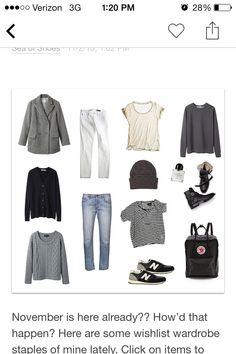 25 Meilleures Images Du Tableau Basic Wardrobe