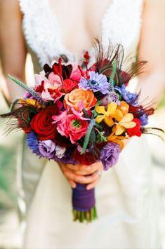 Planning A Fantastic Flower Wedding Bouquet – Bridezilla Flowers Bridal Flowers, Flower Bouquet Wedding, Floral Wedding, Fall Wedding, Flower Bouquets, Greenery Bouquets, Purple Bouquets, Ribbon Wedding, Peonies Bouquet
