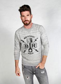 Piston logo sweatshirt - Grey
