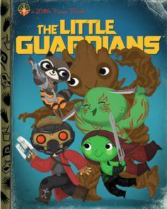 Geek Art Gallery: Fresh Take: Little Pop Culture Books - Little Guardians of the Galaxy