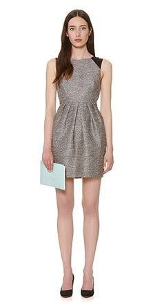 Noel Sparkle Jacquard Dress