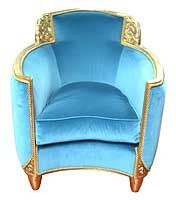 Uuuuuuh!  It's so weird and I looooove it!  Art Deco Chair - @Mlle