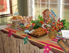 beautiful luau party post with printable ideas and pictures