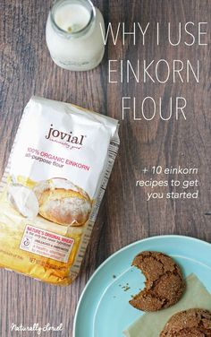 Einkorn flour is the only unhybridized form of wheat and many with gluten sensitivities say they can tolerate it. Come learn why I use einkorn flour exclusively in my baking plus recipes to get you started. Grain Foods, Foods With Gluten, Bratwurst, Gluten Free Baking, Healthy Baking, Healthy Breads, Einkorn Bread, Sourdough Bread, Multigrain