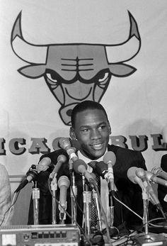 Rookie : Classic photos of Michael Jordan