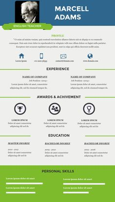 Infographic Resume free online infographic resume templates : Resume infographic template available in Visme, an infographic ...