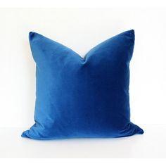 Blue Velvet | Arianna Belle Pillows | Velvet Pillows