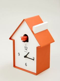 cuckoo clock from couvertureandthegarbstore.com #modern