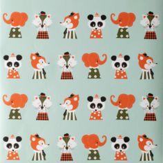 Ferm Living Marionette eläintapetti