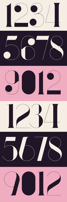 If you are looking for inspirational examples of how to approach almost any design situation featuring numbers, here are 58 beautiful numerical Typography designs for inspiration. Typography Letters, Typography Logo, Graphic Design Typography, Lettering Design, Number Typography, Number Fonts, Japanese Typography, Web Design, Type Design