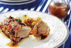 Ψαρονέφρι με γλυκόξινο γλάσο-featured_image Food Categories, Meat Recipes, Steak, Pork, Beef, Dinner, Baking, Kitchens, Bakken