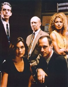 Law and Order: SVU (Season One) Mariska Hargitay, Chris Meloni, Richard Belzer, Dann Florek and Michelle Hurd