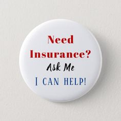 Shop Need Insurance? Button created by InsuranceMarketing. Personalize it with photos & text or purchase as is! Life Insurance Corporation, Shop Insurance, Life Insurance Agent, Insurance Marketing, Life Insurance Quotes, Commercial Insurance, Insurance Humor, Erie Insurance, Duranta