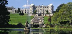 Powerscourt Manor nearby Enniskerry in the Wicklow Mountains, Ireland.  They have the sweetest cemetery for pets, mentioning how many gallons of milk a beloved cow gave in her lifetime.