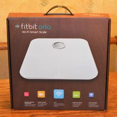 Almost bought this. Fitbit Aria Wi-Fi Scale Love it and my Fitbit one. Syncs automatically to your iPhone and iPad. Fitbit Hr, Fitbit Charge Hr, Fitness Tracker, Fitness Tips, Fitness Motivation, Health Advice, Health And Wellness, Health Fitness, Workout Gear