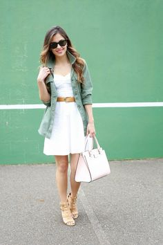 How to Wear Utility Jackets in the Summer | StyleCaster