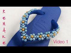 Como fazer uma linda corrente de florzinhas de pérolas - Cícero Alencar - YouTube