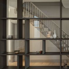 glass backed shelving | Honeywell | The Workshop