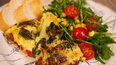 Rijk gevulde aardappeltortilla met groenten - recept   24Kitchen