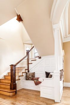 Back Stair Newel Design Ideas, Pictures, Remodel, and Decor - page 8