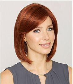 合成かつらホット髪型新しいスタイリッシュなカネカロンショートストレートレディースファッションセクシーなコスプレパーティー毛かつら赤褐色色