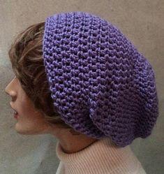 Slouchy beanie Dreamer beanie crochet hat accessory