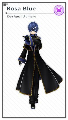 Rosa Blue | Design: Ittomaru