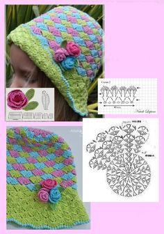 kůsová's media content and analytics Crochet Blanket Edging, Baby Boy Crochet Blanket, Crochet Chart, Crochet Motif, Crochet Patterns, Crochet Kids Hats, Crochet Beanie Hat, Crochet Gifts, Crochet Baby Bonnet