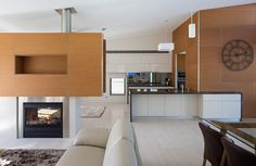 Nice mix of warm and cool, hard and soft.  modern-australian-house-250215_28