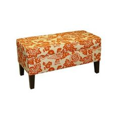 LOVE this storage bench- finally on sale at Target :) $183.99
