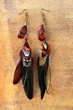 https://www.facebook.com/siamic.crafts feathers tribal boho