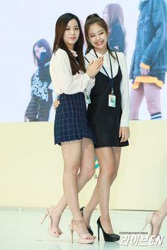 BLACKPINK || Jisoo & Jennie (Incheon Main Customs Promotion Event)
