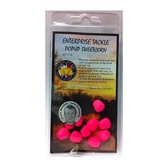 fake sweetcorn pop up flouro pink - enterprise tackle , Fluro pink fake corn 10 per pack Pop up corn.